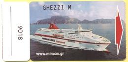 MINOAN LINES - CRUISE EUROPA CABIN KEY CARD - Hotelkarten