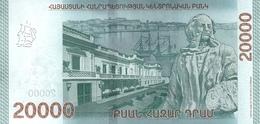 ARMENIA P. NEW 20000 D 2018 UNC - Armenien