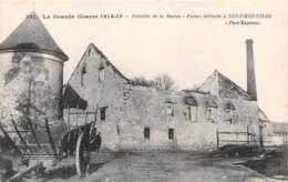 Bataille De La Marne Ferme Detruite A NEUFMONTIERS 11(scan Recto-verso) MA2029 - Autres Communes