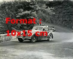 Reproduction D'unePhotographie Ancienne D'une Alfa Romeo 8C 2900B Au Grand Prix Watkins Glen En 1948 - Reproductions