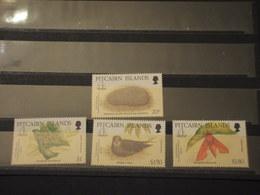 PITCAIRN - 1992 FAUNA/FLORA 4 VALORI - NUOVI(++) - Pitcairn Islands