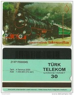 TRF01001 Turkey Turk Telekom Phonecard Train / 30 Unit / Used - Türkei