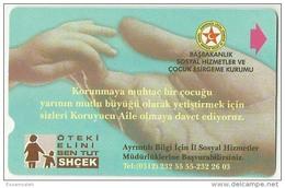 TRF01002 Turkey Turk Telekom Phonecard Children Protection Association / 60 Unit / Used - Turkey