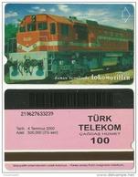TRF01005 Turkey Turk Telekom Phonecard Train / 100 Unit / Used - Türkei
