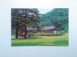 Mansa Gazebo And Pavilion Taun Pohen From The Temple On Mount Myohyang. North Korea. Pja9-2 - Korea, North