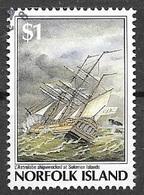 1987 $1 Bicentenary Of Norfolk Island Settlement, Used - Norfolk Island