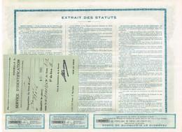 Ancienne Action - Tramways Et Electricité De Damas - Titre De 1928 - N° 13046 - Chemin De Fer & Tramway