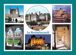 16 La Rochefoucauld Le Chateau ( Multivues ) Editions Artaud R156 - Autres Communes