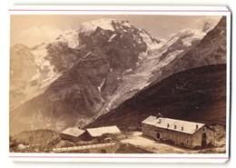 Foto Fotograf Unbekannt, Ansicht Ortler, Blick Von Der Franzenshöhe Auf Brücke Und Gebirge - Luoghi