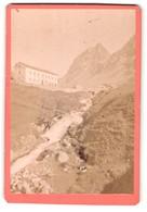 Fotografie Ad Braun & Cie, Dornach & Paris, Ansicht Weissenstein, Route De L`Albula - Places