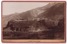 Photo C. Rava, Briancon,  Vue De Mont-Dauphin, Ort Auf Felsen, Gebirgsmassiv - Lieux