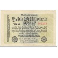 Billet, Allemagne, 10 Millionen Mark, 1923, 1923-08-22, KM:106b, TTB - [ 3] 1918-1933: Weimarrepubliek
