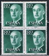 (1E 287) ESPAÑA // YVERT 863 X 4 // EDIFIL 1152 X 4 // 1954   NEUF - 1951-60 Unused Stamps