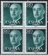 (1E 288) ESPAÑA // YVERT 863 A X 4 // EDIFIL 1152 X 4 // 1954   NEUF - 1951-60 Unused Stamps