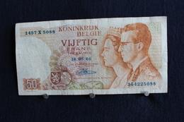 3 / Belgique /  Royaume De Belgique - 50 Francs, Type Roi Bauduin I Et La Reine Fabiola  - 16.05.1966 / 1457 X 5088 - Autres
