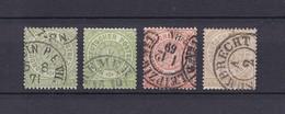 Norddeutscher Postbezirk - 1869 - Michel Nr. 14/15 + 18 - 24 Euro - Norddeutscher Postbezirk