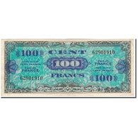 France, 100 Francs, Drapeau/France, 1944, TB, Fayette:VF20.01, KM:118a - Treasury