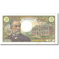 France, 5 Francs, Pasteur, 1966-07-07, SUP, Fayette:61.2, KM:146a - 1962-1997 ''Francs''