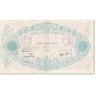 France, 500 Francs, Bleu Et Rose, 1940, 1940-01-18, TB, Fayette:31.57, KM:88c - 1871-1952 Circulated During XXth