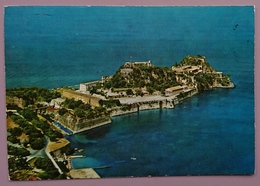 CORFU - The Old Fortress - La Vieille Forteresse - Air View - Greece - Vg - Grecia