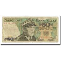Billet, Pologne, 50 Zlotych, 1986, 1986-06-01, KM:142c, B - Pologne