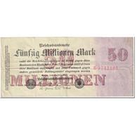 Billet, Allemagne, 50 Millionen Mark, 1923, 1923-07-25, KM:109a, TB - [ 3] 1918-1933: Weimarrepubliek