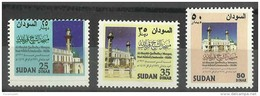 SDS00201 Sudan 1996 Mosques - Complete Set - MNH - Sudan (1954-...)