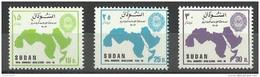SDS00203 Sudan 1995 ARAB LEAGUE 50TH ANNIVERSARY - Complete Set - MNH - Sudan (1954-...)
