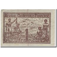 Billet, French West Africa, 1 Franc, KM:34a, TB+ - États D'Afrique De L'Ouest
