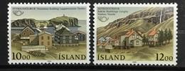 ICELAND # 624-625.  Nordic Cooperation Year. MNH (**) - 1944-... Republik