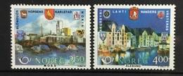 NORWAY # 894-895.  Nordic Cooperation Year. MNH (**) - Norway