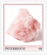 "Austria 2019 - Serie Mineralien ""Rosenquarz"" Marken Edition 1 Mnh - Alimentación"