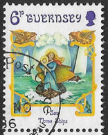 Guernsey SG390 1986 Christmas 6p Good/fine Used [39/32288/25D] - Guernsey