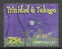 2000 75 Cents Christmas, Used - Trinidad & Tobago (1962-...)