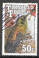 1990 50 Cents Hummingbird, Used - Trinidad & Tobago (1962-...)