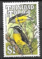 1990 $1.00 Bananaquit, Used - Trinidad & Tobago (1962-...)
