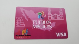 MEXICO - BANK CARD - VISA - LIMITED EDITION  - RARE  - FOR COLLECTION - Cartes De Crédit (expiration Min. 10 Ans)