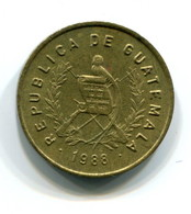 1988 Guatemala One Centavo Coin - Guatemala