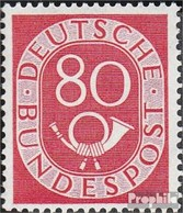 RFA (FR.Allemagne) 137 Oblitéré 1952 Horn - [7] Federal Republic