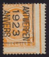 Préo Antwerpen 1923 Anvers - Foutive Tanding - Préoblitérés