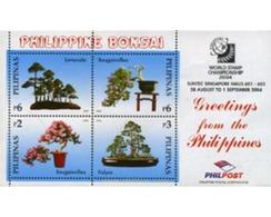 Ref. 314089 * MNH * - PHILIPPINES. 2004. EXPOSICION FILATELICA MUNDIAL - SINGAPUR-2004 - Philippines