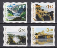 New Zealand 2014 Definitives - Landscapes Set Of 4 MNH - New Zealand