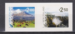 New Zealand 2014 Definitives - Landscapes Set Of 2 Self-adhesives MNH - Nieuw-Zeeland