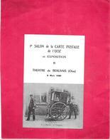 DEPT 60 - 1er Salon De La Carte Postale De L'Oise à BEAUVAIS - N°00080 - ARD - - Beauvais
