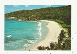 Cp, SEYCHELLES ,  Grand Anse ,la Digue ,  écrite,  Photo Eden - Seychelles