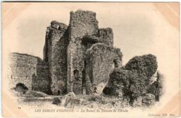 61kx 249 CPA - SABLES D'OLONNE - LES RUINES DU CHATEAU DE TALMON - Sables D'Olonne