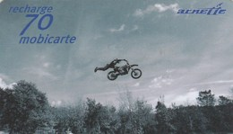 MOBICARTE RECHARGE 70...  ARNETTE....MOBYLETTE ..  ...60 000 EX - France