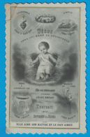 IMAGE EN CELLULOID / JESUS PORTRAIT DE LA SERVANTE DE JESUS / BOUASSE-LEBEL. IMP EDIT. PARIS RUE ST SULPICE 29 - Images Religieuses