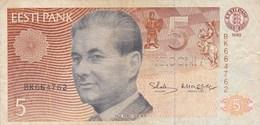 Estonie - Billet De 5 Krooni - Paul Keres - 1992 - Estland
