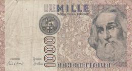 Italie - Billet De 1000 Lire - 6 Juin 1982 - Marco Polo - [ 2] 1946-… : République